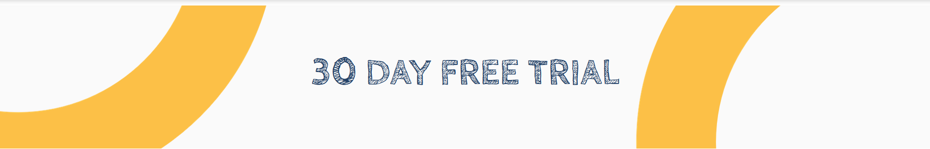 30 day free trial image